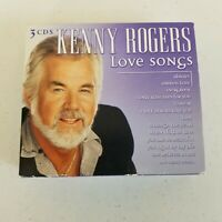 Love Songs Madacy Box by Kenny Rogers CD Jan 2006 3 Discs 30 Songs