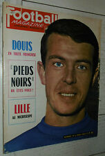 FOOTBALL MAGAZINE N°38 1963 DOUIS FRANCE-ENGLAND LILLE LOSC AS MONACO PEYROCHE