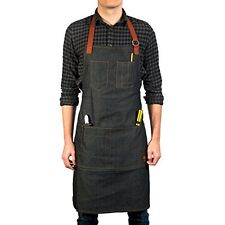 Vulcan Workwear Utility Apron - Multi-Use Shop Apron with Pockets - Lightweight