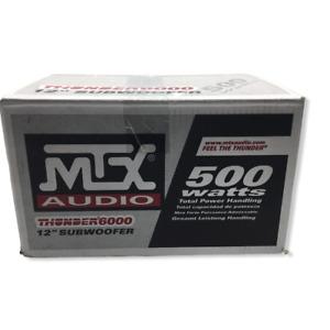 "MTX Thunder 6000 12"" Subwoofer 500 Watts Old School"