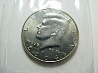 2004-P Kennedy Half Dollar Brilliant Uncirculated in Original Mint Cellophane