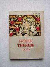 SAINTE THERESE D'AVILA, par Gilles MAUGER, 1960