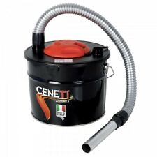 Aspiracenere Ribitech Ceneti 800W - Aspira cenere elettrico 15lt stufe e camini