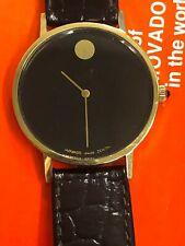 Vintage Movado Swiss Zenith 14kt Gold Unisex Watch