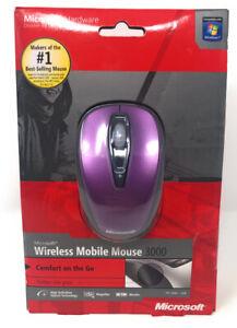 Microsoft Wireless Mobile Mouse 3000 Purple NEW