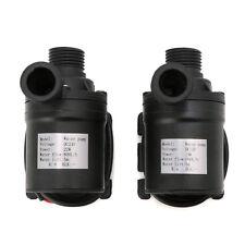 800L/H 5m DC24V 12V Pompe à eau à circulation d'eau à moteur sans brosse solaire