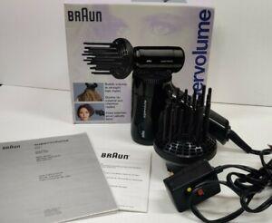 BRAUN Super Volume 4583 SVB1 Hair Blow Dryer - COMPLETE WITH BOX