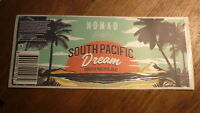 AUSTRALIAN BEER LABEL, NOMAD BREWERY SYDNEY, SOUTHERN PACIFIC DREAM ALE