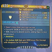 "Maliwan Takedown! NEW ANOINTED ""Transformer"" Shield - Borderlands 3 (PS4)"