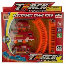 Battery Powered Train Set with Track