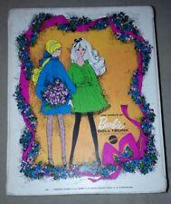 Vintage 1968 World of BARBIE Mattel Doll Trunk Case