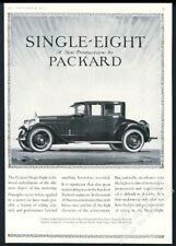 1923 Packard car Single Eight coupe Frank Quail art vintage print ad