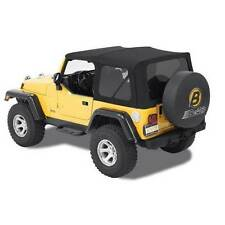 Bestop Supertop NX Softtop Black Twill For Jeep Wrangler #54820-17
