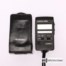 Gossen Ultra Pro Professional Light / Flash Meter, Top of the Line