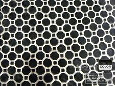 Robert Allen Velvet Geo Color Black - Brocade Cut Velvet Geometric Pattern