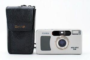 Konica Big Mini F Silver Point & Shoot Film Camera 35mm f2.8 A805579