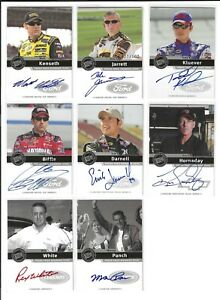 2006 Press Pass SIGNINGS SILVER Dale Jarrett SCARCE--#021/100! ONE CARD ONLY!
