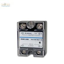 elektronisches Lastrelais (Triac) 3-32VDC / 30-240VAC max. 25A, Relais