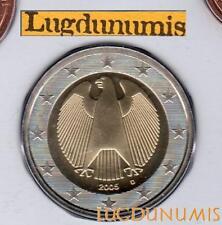 Allemagne 2005 2 Euro D Munich BU FDC provenant coffret 85000 exemplaires