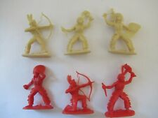 Eri : Indianer / Werbefiguren / Wild West / alte Kunststoff-Figuren