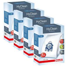 Genuine Miele GN Vacuum Bags 4 x Boxes, Hyclean 3D Efficiency 16 Bags Per Pack