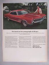 Buick Wildcat Gran Sport PRINT AD - 1966
