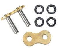 DID Hollow Rivet Soft Link For Motorcycle Chain Gold 520ERV3 G&G520ERV3