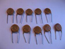 Capacitor Ceramic Disc 47pF 10% 5000V 5KV RMC N2200 - NOS Qty 10