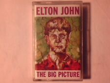 ELTON JOHN The big picture mc cassette k7 SIGILLATA SEALED!!!