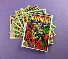 Defenders Lot: 7-Bk- #50, 51, 52, 53, 55, 56, 57! Hulk! Moon Knight!