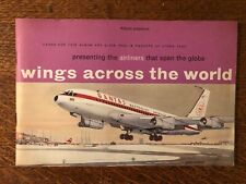 Lyons Tea Cards Wings across the World album, early 1960s