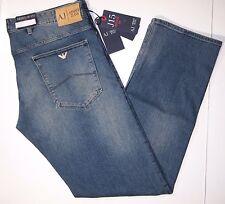 Armani Jeans medium wash J15 regular fit men jeans size 31x34 regular fit NEW