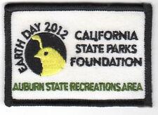 Auburn SRA - Cal St Parls Foundation - Earth Day 2012 - Volunteer Award Patch -