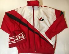 New Vintage 1980's Team Canada Mens Large Jacket With New Toque