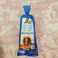 Lightly Salted Quaker Rice Cakes 14 Cakes 100% Whole Grains 4.47 ounces