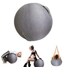 60/65cm Funda De Bola De Ejercicio Para Yoga Pilates Pelota De Gimnasio