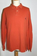 Ralph Lauren ! oranges Basic Poloshirt / -hemd Modell: Custom fit in Gr. L