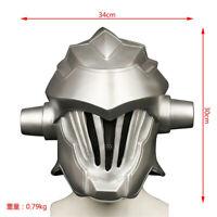 Goblin Slayer Full Face Mask Cosplay Props Helmet Soft PVC For Adult Breathing