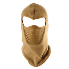 OUTDOOR CYCLING BIKE BICYCLE FLEECE FULL FACE MASK NECK BALACLAVA OD/COYOTE
