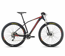 "bicicleta MTB 27,5"" ORBEA ALMA H50 etiquetas. RED/Orange/Orbea BIKE H50 RED/ORA"