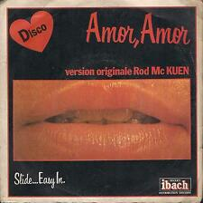 DISCO 45 Giri   ROD MC KUEN - AMOR, AMOR / FOREVER YOUNG