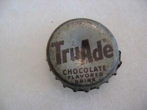 TRU ADE CHOCOLATE - Cork Lined Bottle cap - Washington, DC. - Rare Location!