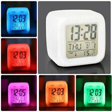 LED Wake up Light Stimungs-Licht-Wecker Kinder-Radiowecker Sonnenaufgang  7Farbe