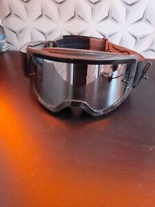 Mens Black Fox Biking Goggles