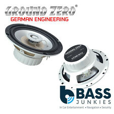 "Ground Zero GZRM 165X - 6.5"" Inch 16.5cm 240 Watts Marine Coaxial Car Speakers"