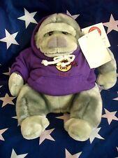 HRC Hard Rock Cafe Tokyo Gorilla Purple Hoodie 10`` 2002