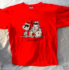 SNOOPY Christmas Shirt THE PEANUTS (Size L) Licensed By Peanuts