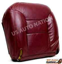 95 96 97 98 99 Chevy Silverado Driver Side Bottom Replacement Seat Cover Red