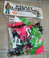 Galaxy Laser Team Space Sci-Fi Plastic Star Wars Monster Figure Tim Mee Bag