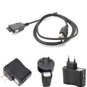 1A USB Wall Battery Charger power adapter CABLE forSamsung mp3 YP-K3 YP-K5J _gm
